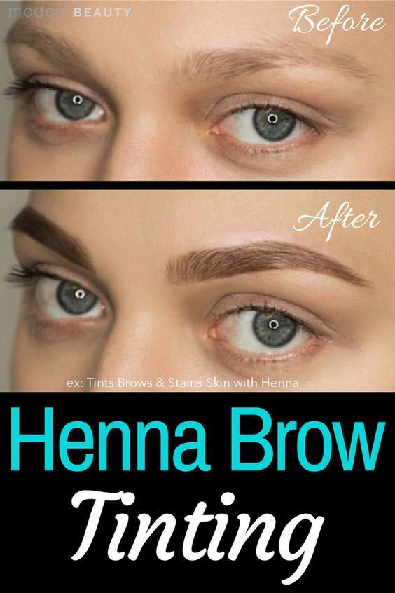 Henna Powdered Eyebrow Tint A More Natural Alternative Of