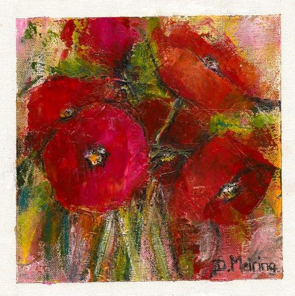 Dalene Meiring - Poppies