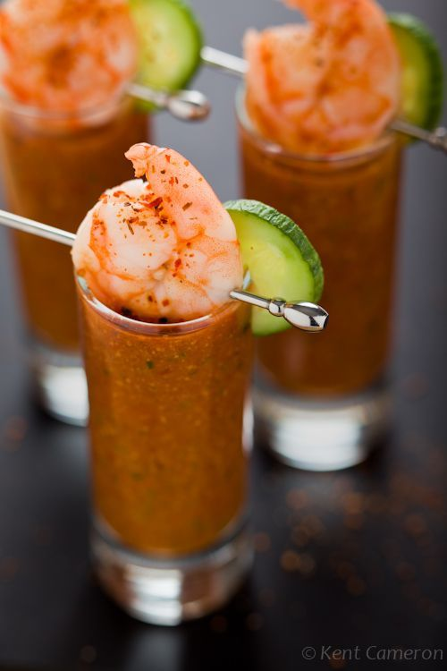 Gazpacho - Chilled Tomato Cucumber Soup