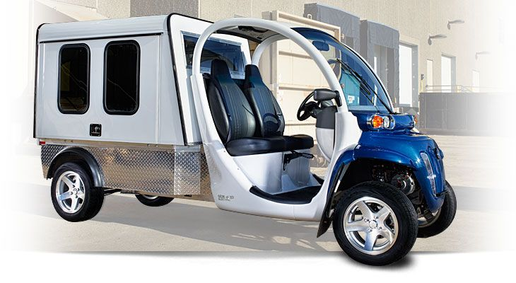 GEM Electric with enclosed pickup area