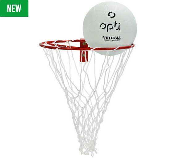 Buy Opti Netball Ring & Ball Set at Argos.co.uk, visit Argos.co.uk to shop online for Netball hoops, Netball, Sports, Sports and leisure