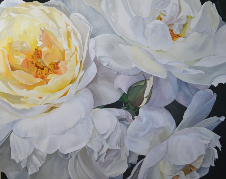 'Summer Flush' 152 x 122 cm Jenny Fusca Paintings