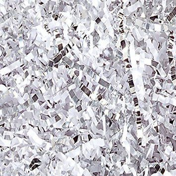 30 best gift wrap crinkle and filler paper images on pinterest white and silver metallic blend crinkle paper lb bag 8 ounces you can get additional details at the image link negle Choice Image