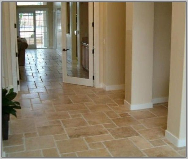 Travertine Look Porcelain Floor Tile