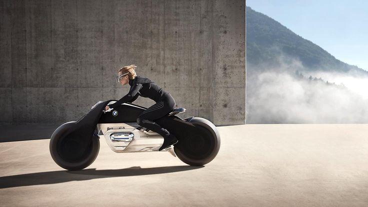 Zukunftsvision ohne Helm: BMW plant unfallsicheres Motorrad