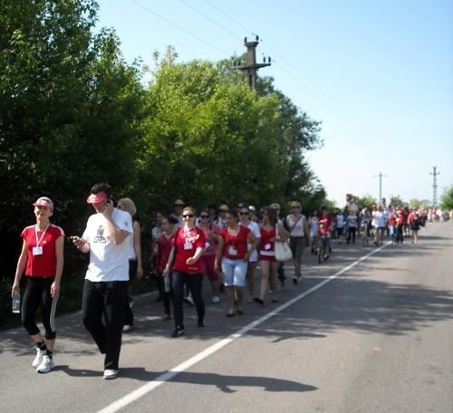 A început preînregistrarea participanţilor pentru Maratonul de Solidaritate Caritas din 25 mai