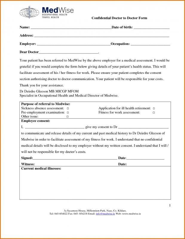 Print Out Doctors Excuse Doctors Note Template Doctors Note Return To Work