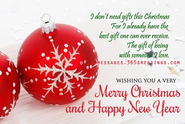 Christmas Day 2016 Greetings Card Messages For Boyfriend And Best