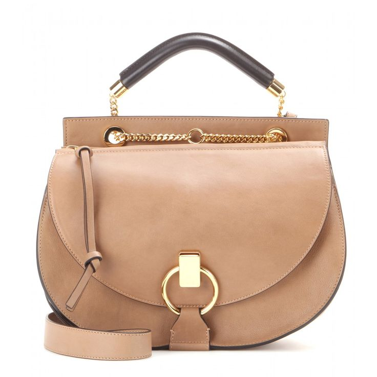 ... chloe handbags knockoffs - Chlo   - Goldie Medium leather and suede  shoulder bag - nwt lush leather on trend polished black ivory day baylee ... 5c4e00cefa0b3