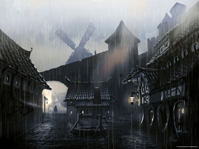 The Elder Scrolls V: Skyrim Concept Art by Ray Lederer