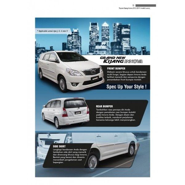 Bodykit Toyota Kijang Innova 2012-2013