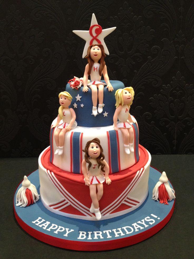 25 Best Ideas About Cheerleader Cakes On Pinterest