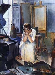 Studio Interior - Alvar Cawén