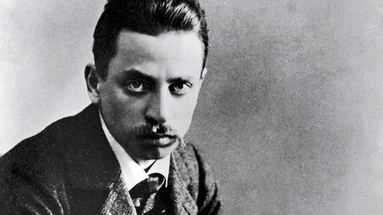 Rainer Maria Rilke (1875-12-04 - 1926-12-29)  As a lyrical poet of the modern German language, Rilke takes a prominent place. He was born in Prague, a part of Austria-Hungary at the time. His first book of poems, 'Leben und Lieder', published in 1894 at the age of 19, was followed by many more, including 'Das Buch der Bilder' (The Book of Images, 1902), 'Das Stunded Buch' (The Book of Hours, 1905), 'Duineser Elegien' (Duino Elegies, 1923).  #prague #praga #praha #prag
