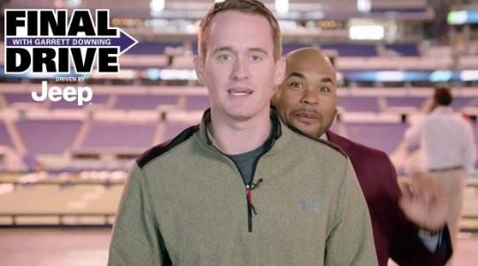 Final Drive: Check Out Steve Smiths Videobomb