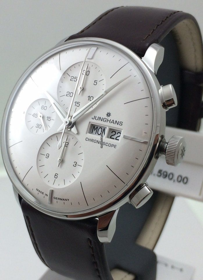 Junghans Meister Chronoscope Automatik Ungetragen Uhr Uhren Fossil Uhr Damenuhren Daniel Welli In 2020 Beautiful Mens Watches Mens Watches Expensive Junghans Watch