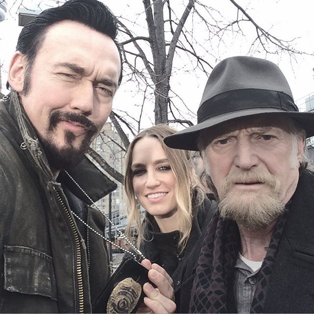 My crew is bad. My crew is deep. My crew puts Vamps deep asleep. My crew is cold. My crew is strong. My crew would die to right all wrongs. #thestrain