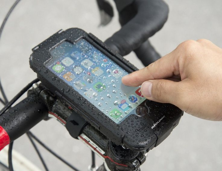 The #BikeMount Plus for #iPhone6 is a hard-shell, weatherproof case for your iPhone that can mount to your bike.