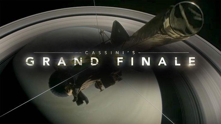 Cassini's Grand Finale on 15th September 2017
