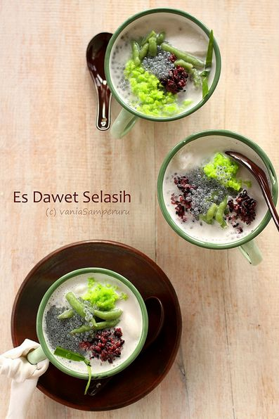 Es Dawet Selasih | Vania Samperuru http://v-recipes.blogspot.com/