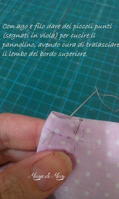 Pannolino porta confetti Cerimonie fai da te creativapp regali fai da te stoffa e lana