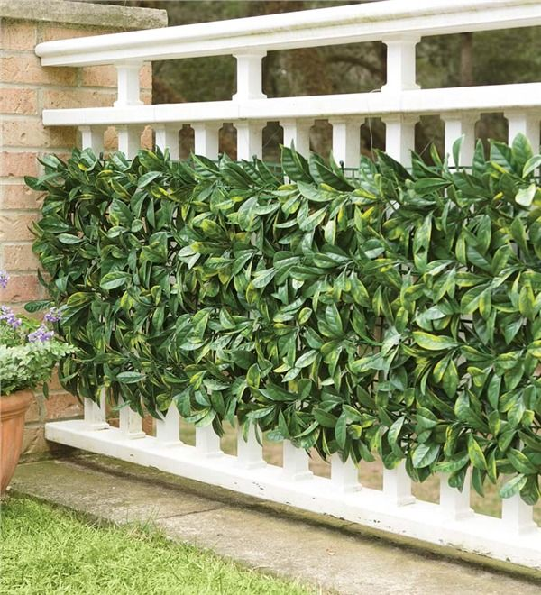 Main image for Faux Greenery Outdoor Privacy Panels, Set of 12