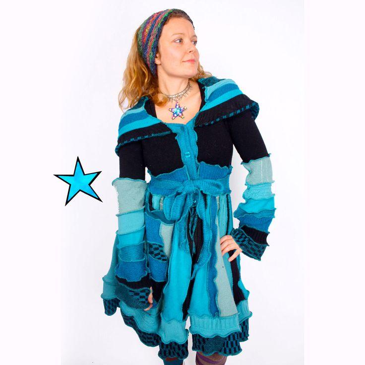23 best Katwise images on Pinterest | Sweater coats, Upcycled ...