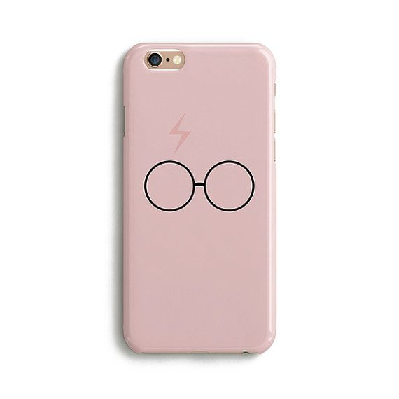 Harry Potter pink scar and glasses iPhone case by PooSparkles