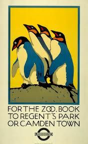 150 years of london underground posters - London Zoo