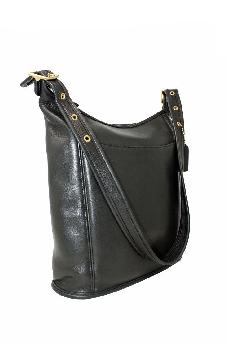 2612d6b56714a Vintage Coach Slim Bucket Bag