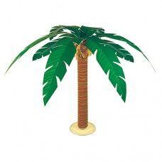 Tropical Palmboom-tafel-deco
