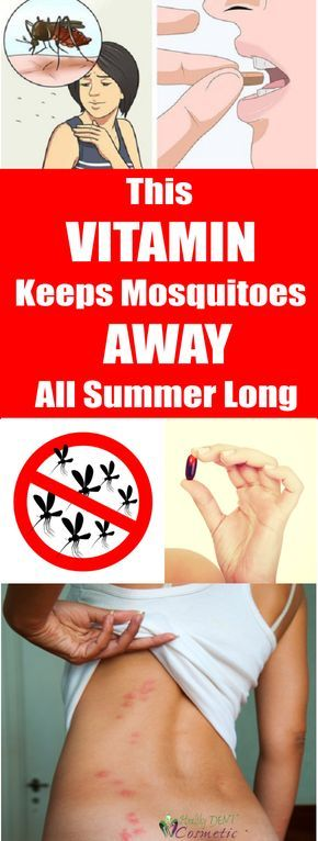 This Vitamin Keeps Mosquitoes Away Through All Summer Long!!!