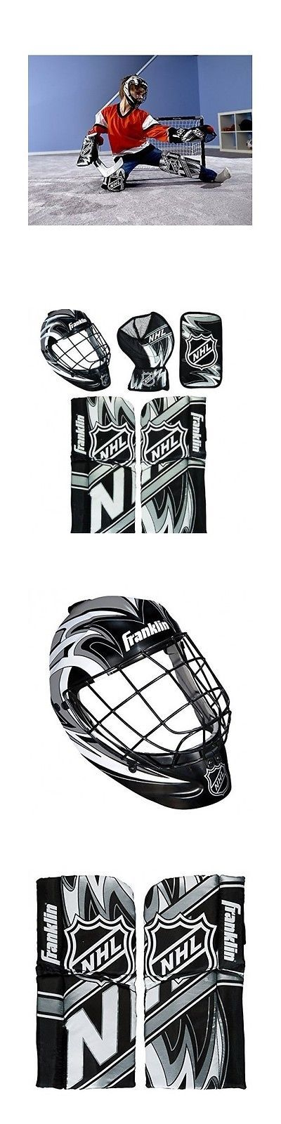 Other Hockey Goalie Equipment 79765: Hockey Goalie Equipment Field Training Knee Kids Mini Youth Protective Gear New BUY IT NOW ONLY: $54.99