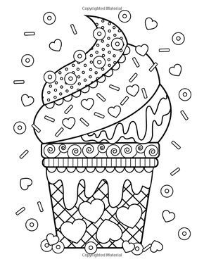 coloring pages of junk food - photo#19