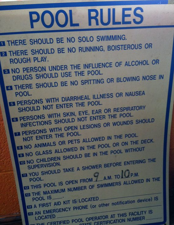 1000 Ideas About Pool Rules Sign On Pinterest Swimming Pool Signs Pool Signs And Pool Rules