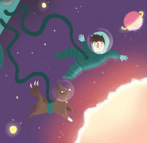 Space boy Alexandra Turner-Piper