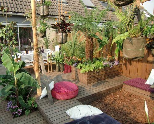 Jungletuin eigen huis tuin garden tuinontwerp for Deuntje eigen huis en tuin