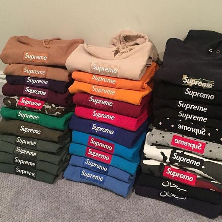 Supreme clothing