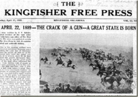 OKLAHOMA LAND RUSH ON THIS DAY IN 1889 | PDX RETRO
