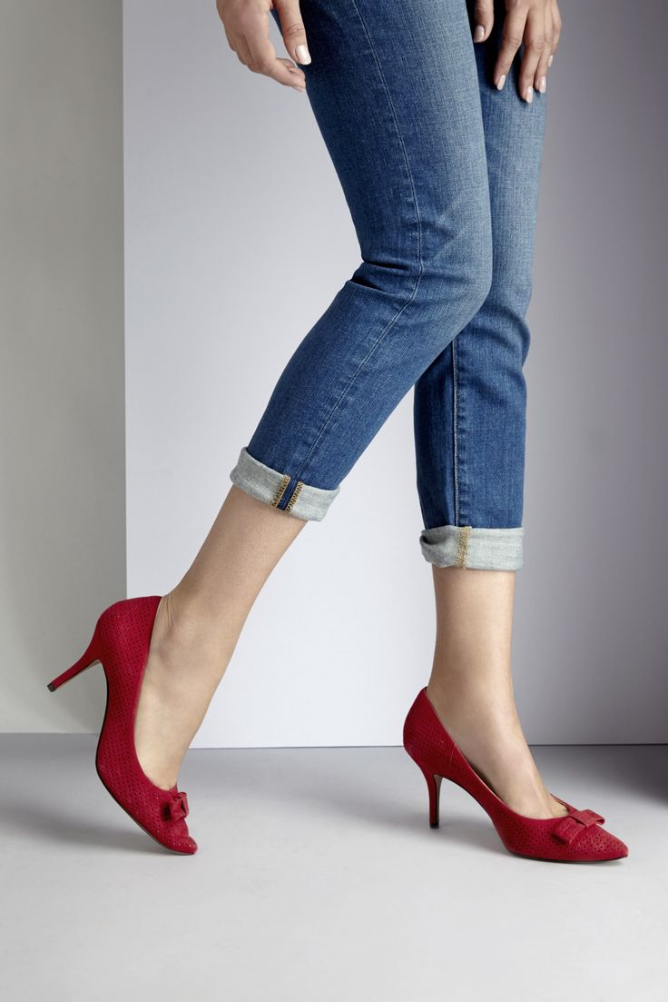 Sassy red shoes!