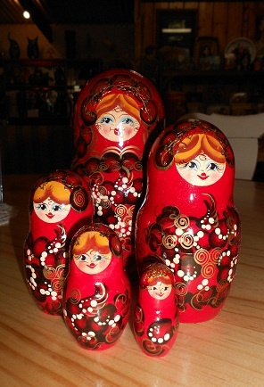 Matryoshka Russian Dolls from AndekriS (Stall #452 Ballarat) at The Mill Markets - Ballarat, Daylesford & Geelong www.millmarkets.com.au