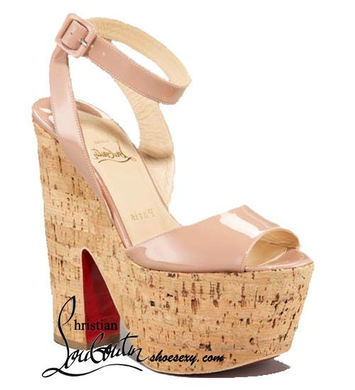 Christian Louboutin Super Dombasle 160 Nude Patent Sandals--Christian  Louboutin,Christian Louboutin Shoes
