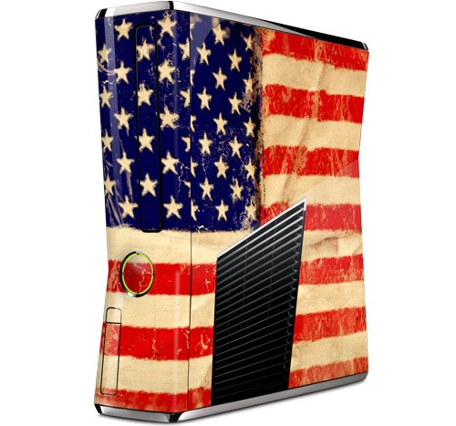 Stars and Stripes by GelaSkins for the Xbox 360 SXbox 360, Gamer Chic