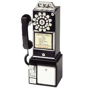 Crosley 1950\'s Retro Payphone: Pay Phones, Payphones,  Pay-Stat, 1950S Pay, 1950 S, Products, Diners Phones, Telephone, 1950S Classic