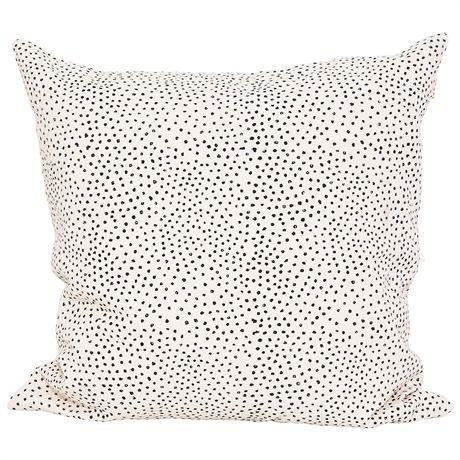 Land: Bangladesh Mått: 50×50 cm Material: 100% Bomull Design: Afroart Studio Tvättråd: 40 grader fintvätt Innerkudde säljs separat.