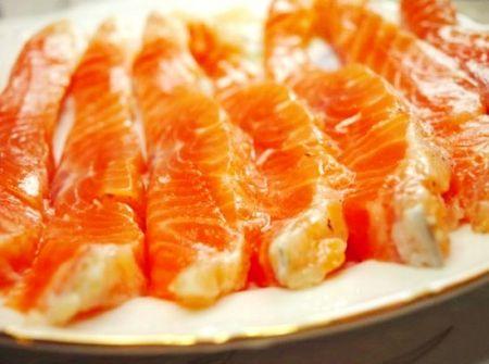 Маринованная красная рыба (маринад)