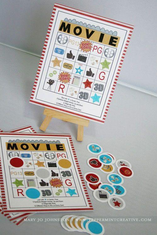 movie-night bingo