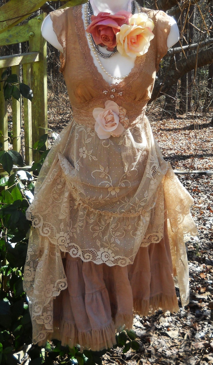 shabby boho dress  I sooooo love this dress