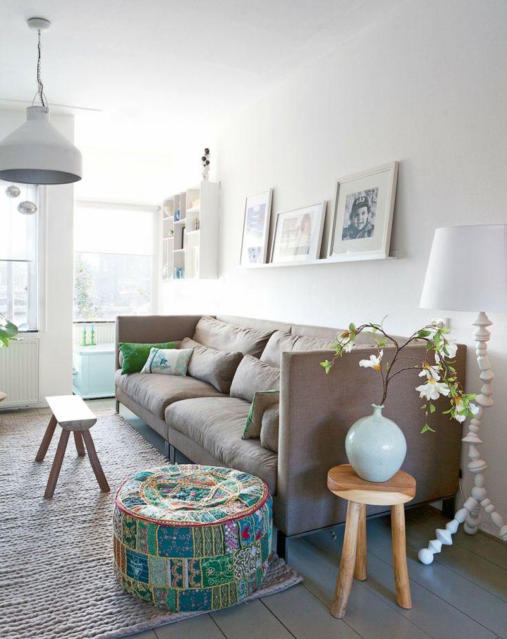 Dykehouse in Gouda Photographer: Jansje Klazinga   Stylist: Frans Uyterlinde #binnenkijken #vtwonen #livingroom #couch #basic