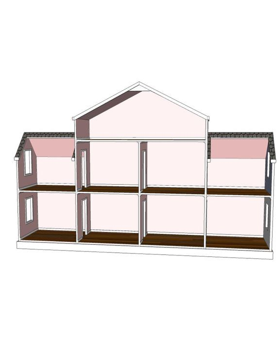 Best 25 Doll House Plans Ideas On Pinterest Diy Dolls